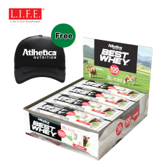 Atlhetica - Sugar free - High-protein Nutrition Bar (Original)12 pcs/box 15845