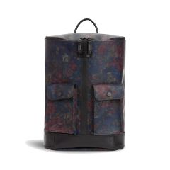 Frequent Flyer Captain Zip Around Backpack Small - Autumn Floral Red