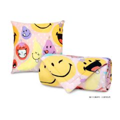 """AIRLAND - Smiley Cushion with Summer quilt 60""""x86"""" -XW080 2011-I1QC0060"""