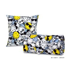 """AIRLAND - Smiley Cushion with Summer quilt 60""""x86"""" --XW081 2012-I1QC0060"""