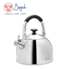 Buffalo - Elegance Advance 3.0L stainless steel Whistling Kettle W/Silicone Handle (027005) 27005