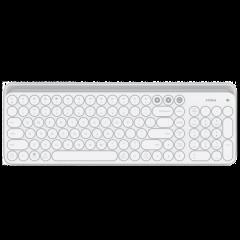 米物藍牙雙模鍵盤 白色