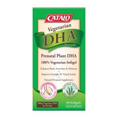 CATALO 藻油DHA活腦補眼配方 60粒  (06/2020) CATALO2968