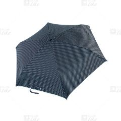 "Leung So Kee - Aluminium 3 Fold Umbrella - 21"" - Black Star 301blackstar"