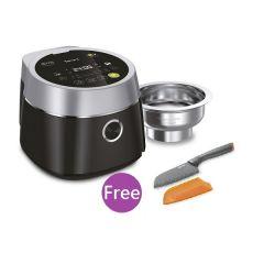 特福IH磁應健康蒸煮電飯煲 (型號: RK8608) 連禮品:  特福 12厘米不銹鋼易潔三德刀