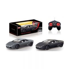 DX-Da Feng - 1:24 Lamborghini Murcielago Reventon Black Window Remote Control Vehicles - Silver 4039132429935_BLK
