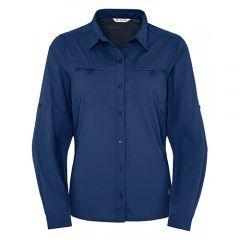 Vaude 女裝快乾長袖恤衫藍色
