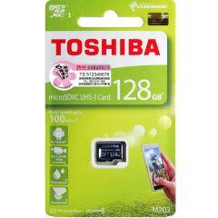 TOSHIBA MICROSD CARD M203 UHS1 U1 READ 100MB/S 128GB 4107661