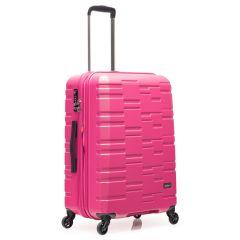 Antler - Prism Embossed 24吋粉紅色行李箱 4306102016