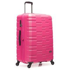 Antler - Prism Embossed 28吋粉紅色行李箱 4306102110