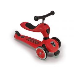 Scoot & Ride - Highwaykick 1 (1 yr+) Red (3 Wheels) 4897033962056