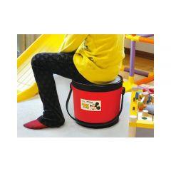 Nishiki Kasei - Storage Mickey Stool - Red 4904121305531