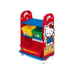 Nishiki Kasei - Hello Kitty Kid Storage Rack with Container 4904121317411