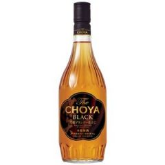 CHOYA - BLACK BRANDY UMESHU 720ML 4905846117201