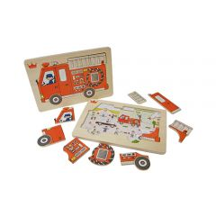 Ed.Inter - Fire Engine Puzzle 4941746806319