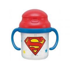 Skater - Superman Mug with Straw - White 4973307186882