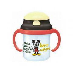 Skater - Mickey Handle Mug with Straws - Light Blue 4973307250415