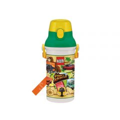 Skater - Tomica Water Bottle with Straw - Green 4973307265864