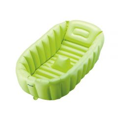 Richell - 嬰兒充氣沖涼浴盆 (綠色)
