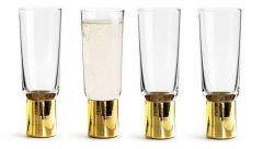Sagaform - Club Champagne Glass Set Of 4pcs 5003634