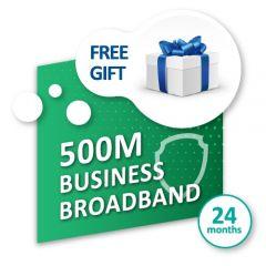 500M* 商業寬頻服務 連禮遇