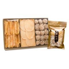 南北行 - 特級花菇&花膠及螺片(送雪耳椰片清潤湯) 60A042
