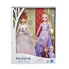 孩之寶- 迪士尼魔雪奇緣 2 安娜及愛莎高貴時裝玩偶姐妹套裝系列