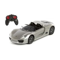 DX-Da Feng - 1:24 Porsche 918 Remote Control Vehicles - Silver 680058910577_SR