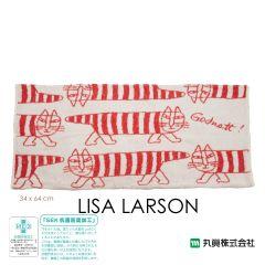 Marushin - Lisa Larson 毛巾枕頭套 (Mikey貓) 6805006000