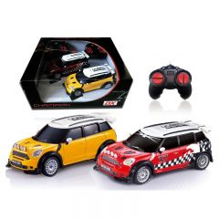 DX-Da Feng - 1:18 Mini Cooper Remote Control Vehicles - Twin Pack (Y沖 6956359200131_Y_R