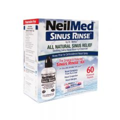 NeilMed Sinus Rinse All Natural Sinus Relief 60 Premixed  Packets  705928001008