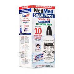 NeilMed 洗鼻器套裝240ml, 洗鼻鹽包 10包
