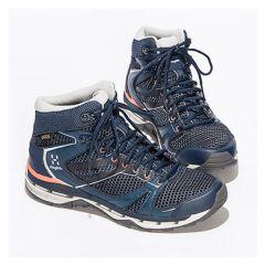 Haglöfs 女裝防水中筒行山鞋 Surround-3PR-497870