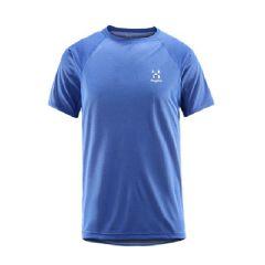 Haglöfs 童裝短袖 Spry Tee-Cobalt Blue-604232