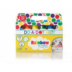 US import - do a dot art Washable Rainbow (6pcs) + 1 Random Book 757098001012
