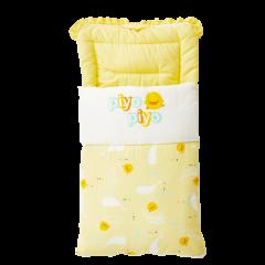 PiYO PiYO 黃色小鴨 - 彩繪海洋抱嬰被 - 黃色 81719Y