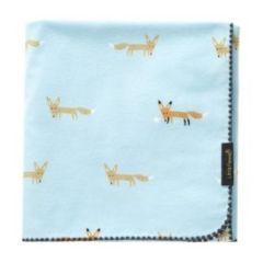 Little Fennec - 100%純棉韓國珊瑚絨保暖小毛毯 - 靴子小狐狸 8806164477663