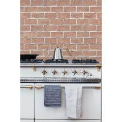 Super Easy Wallpaper - 無痕 DIY 黏貼牆紙 (紅磚) 8809484641929