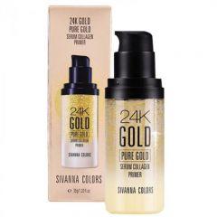 8858994403190 SIVANNA COLORS - 24K GOLD PURE GOLD SERUM COLLAGEN PRIMER 35g