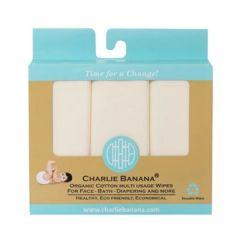 Charlie Banana® 10條裝有機棉抹巾/手巾