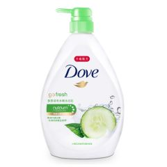 DOVE - Go Fresh Aqua Body Wash 1L A-DO0015