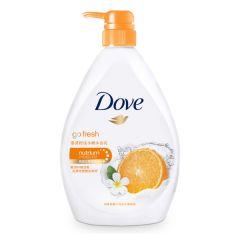 DOVE - Go Fresh Mandarin & Tiare Scent Body Wash 1L A-DO0018