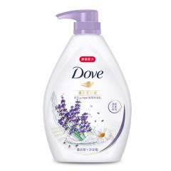 DOVE - Go Fresh Relaxing Lavender Body Wash 1L A-DO0033