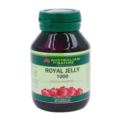 Australian by Nature Royal Jelly 1000mg 60 Capsules ABN00604