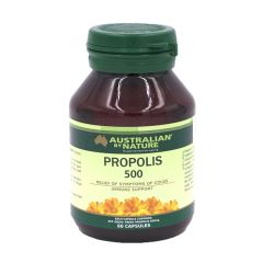 Australian by Nature Propolis 500mg 60 capsules ABN00610