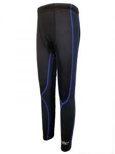 Aquasport 絨毛底保溫褲 (黑/藍)