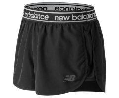 New Balance Womens AWS81134 Accelerate 2.5 Inch Short Black
