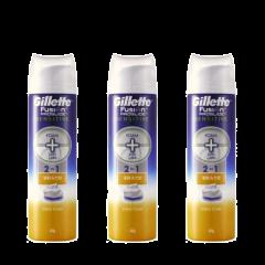 Gillette Venus - Fusion ProGlide Sensitive Foam 245g x3 B01177