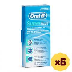 Oral-B - Superfloss 50S (V1) x6 B01199_6