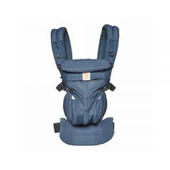 Ergobaby - Omni 全階段型四式360嬰兒背帶透氣款 - 午夜藍